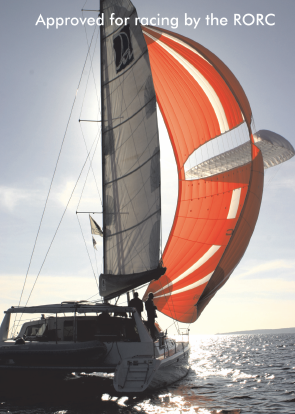 parasailor on  a multihull